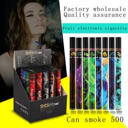 ShiSha Time Jetable E-cigarettes Arômes de fruits Tuyau vape Stylo Narguilé Cigarette Électronique Baguettes Bâtons Shisha Narguilé jetable ? partir de fabricateur