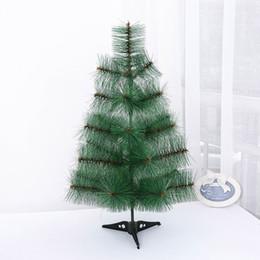 Vente chaude Nouvel An Décor 60 cm Vert Artificielle De Noël Pin Arbre De Bureau De Noël Festival Party Décoration ? partir de fabricateur