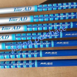 Wholesale golf shafts tour - brand newgolf club sets golf shaft assembly TOUR AD 65 graphite shaft golf clubs Regular or Stiff or SR flex 10pcs   lot free sh