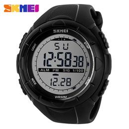 2019 skmei военные часы водонепроницаемые случайные привели Новый бренд SKMEI Мужские спортивные часы светодиодные цифровые военные часы мода повседневная Электроника наручные часы водонепроницаемый открытый Relojes дешево skmei военные часы водонепроницаемые случайные привели