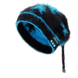 2018 femmes nouveauté dames chaudes bonnet doux chapeau sans fil Bluetooth chapeau chapeau casque rouge, jaune, couleurs noir Patchwork ? partir de fabricateur