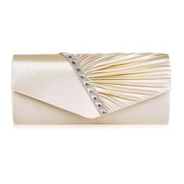 2019 saco de embreagem de ouro rosa Marca Mulheres Evening Bag 2018 Partido Envelope Saco Para Mulheres Meninas Wedding Embreagens Handbag Ombro Bolsas Mujer