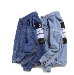 Canada mode casual marque jeans femmes tops printemps et automne harajuku été t-shirts Sweatsh hommes femmes vêtements veste en jean supplier fashion womens spring jackets Offre