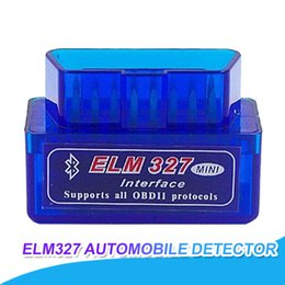 Escáneres universales online-Super Mini Escáner de diagnóstico para automóvil Automotivo Escaner Automotriz Mini V2.1 ELM327 OBD2 ELM 327 Bluetooth Interface Auto Car Scanner