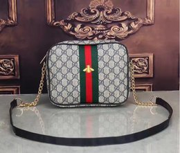 Wholesale Designer Chain Handbags - 2018 Europe Luxury brand women bag Famous designers handbags backpack women's Shoulder bag chain backpacks imitation brands