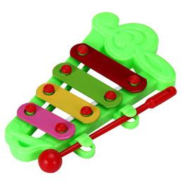 2 шт (ребенок малыш 4-Примечание ксилофон музыкальные игрушки мудрость развития) от Поставщики железная отделка