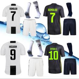 b20c42c6b NeW 2019 kitS Juventus Home away soccer jersey SERGIO MODRIC MARCHISIO MANDZUKIC  PJANIC BONUCCI 18 19 RONALDO DYBALA football shirt