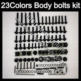 Wholesale R6 Bolt Kit - Fairing bolts full screw kit For YAMAHA R6 YZFR6 08 09 10 11 YZF-R6 YZF600 YZF R6 2008 2009 2010 2011 Body Nuts screws nut bolt kit 23Colors