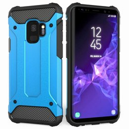 Wholesale Pink Blackberry Phones - Heavy Duty Armor Phone Case for Samsung Galaxy S9 S8 Plus, iPhone X 8 7 Plus Case New High Quality Cellphone Cover