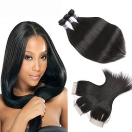 Wholesale Straight Lace Closure Dark Brown - Brazilian Straight Virgin Hair Weaves 3 Bundles with Lace Closures 8A Grade Unprocessed Malaysian Peruvian Indian Cambodian Remy Human Hair