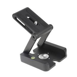 handy ohne kamera Rabatt Z-förmige Klapp Desktop Halter Schnellwechselplatte Kamera Stativ für Canon Nikon Sony DSLR Kamera Aluminiumlegierung Stativköpfe