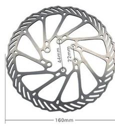 supporto estensione clip Sconti Rotori del disco freno di 160mm 6 bulloni in acciaio inox per MTB Mountain Road Bike Accessori per biciclette Accessori spedizione gratuita