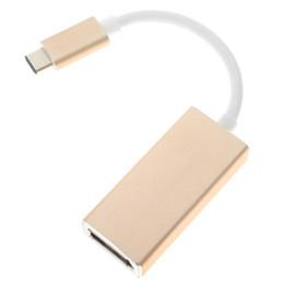 Wholesale Mini Dvi Macbook - USB-C to DisplayPort Adapter USB 3.1 Type C to DP Adapter converter Support 4K UHD 1080P for Macbook Pro