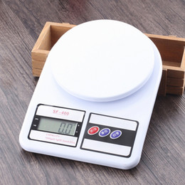 Wholesale Digital Weighing Scales 5kg - SF-400 DIGITAL Scale High Precision Electronic Household Kitchen Scales Baking Available Balance 1kg 5kg 7kg 10kg Weighing Scale