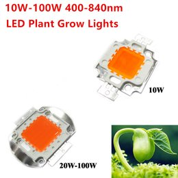 Wholesale Epistar Red Led Chip - 2017 Hydroponice 10W 20W 30W  50W 100W Led Grow Chip . Epistar led chip ,full spectrum 400nm-840nm for indoor plant grow