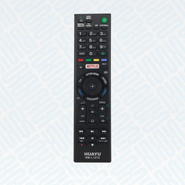 Wholesale Hots Dvd - RM-L1275 Hot NETFLIX Function Universal TV Remote Controller Use for SONY LED LCD HD Smart TV