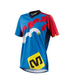 Wholesale Motocross Shirts - Mavic Short Sleeve Crossmax Offroad Downhill Jersey DH MX AM FR Clothing MTB racing Jerseys Motorcycle Motocross Bike T-Shirts5