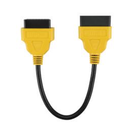 2019 programador de toyota kilometraje Original AUTOOL OBD2 16Pin Macho a Hembra Cable de Extensión Conector 30 cm OBD II Cable OBD 2 Adaptador Conector de Diagnóstico