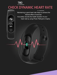 Wholesale pro wrist - M2 pro Bluetooth4.0 Blood Pressure Waterproof IP67 Smart Bracelet Heart Rate Monitor Sleep monitor Wristband for Android iOS free DHL ship