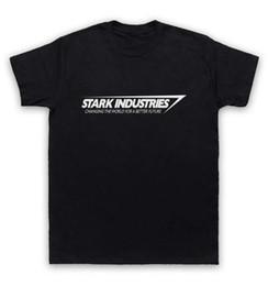 Wholesale Industry Shorts - Iron Man T Shirt Stark Industries