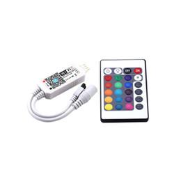 Contrôleur de télécommande en Ligne-Livraison gratuite 10 pcs Contrôleurs RGBW ir RF Led contrôleur de bande avec 21 touches télécommande Google Alexa pour 5050 3528 SMD
