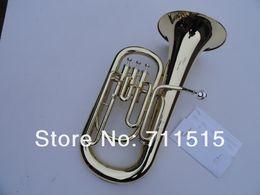 2020 instrumentos de sopro retas Frete Grátis 3 Hetero Chaves Bb Baixo Chifre Latão Francês Horn Instrumento de Vento Com Bocal E Caso De Nylon instrumentos de sopro retas barato