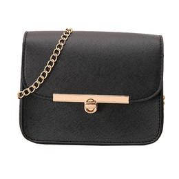 Women Bag 2018 New Korean Fashion PU Leather Messenger Chain Mini Small  Clutches Chain Crossbody Bags Tote sac main femme 615b6869af