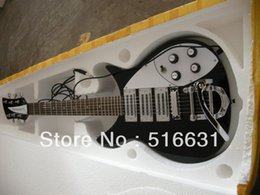 Wholesale Pickups For Guitars - Free shipping Rick Black 3 Pickups 6 Strings Rick Electric Guitar With