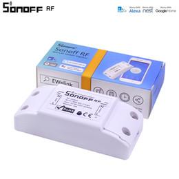 10 PZ Itead Sonoff RF WiFi Smart Switch 433 Mhz Ricevitore RF Controllo remoto intelligente senza fili Per Smart Home Wifi Interruttore luce da