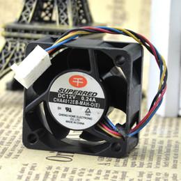 2019 ventilateur 12v supposé Pour le nouveau ventilateur original authentique authentique SUPERRED 4020 12V 0.24A CHA4012EB-MAH-O (E) ventilateur 12v supposé pas cher