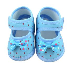 Wholesale Infant Boots For Boys - 2018 Infant Baby Bowknot Boots Soft Crib Shoes For Baby Shoes Children's 1204