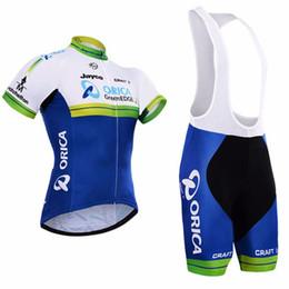 orica велосипедные одежды Скидка ORICA дышащий анти-УФ велоспорт Джерси короткие рукава нагрудник шорты набор ropa ciclismo высокое качество лето велосипед носить быстро сухой велосипед одежда