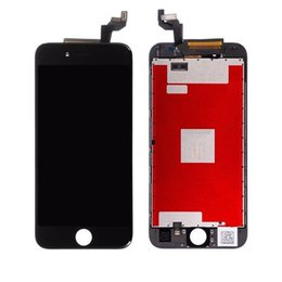Tianma grau a + + + qualidade lcd para iphone 6 / 6p display lcd de toque digitador assembléia completa substituição para o telefone 6 com ferramentas + frete grátis dhl de