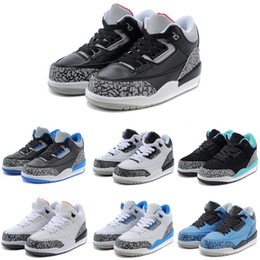 Wholesale led running shoes - Brand Three Kids Basketball Shoes 2018 Unisex Designer Sneakers Leading Trends Sportswear Running Shoes With TOP Quality
