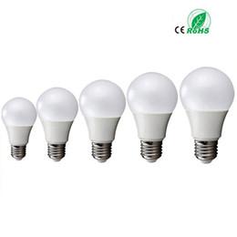Wholesale bright heat - E27 3W 5W 7W 9W 12W globe dimmable 220V 110 BALL bulbs LED Bulb Light SMD5730 85-265v Heat Dissipation High Bright Lampada Lamps