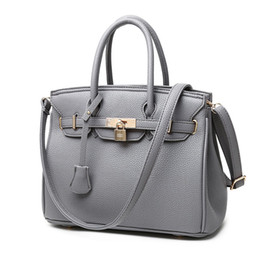 Роскошные сумочки онлайн-2018 Highest Quality 100% Women Genuine Leahter Handbag  Messenger Bag Causal Totes Designer Frame Shoulder Strap Handbag