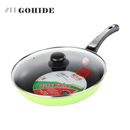 Wholesale Gas Stove Stainless Steel - Guh Super Honeycomb Design Flat Bottom Pot Frying Pan Kitchen Catering Cooking Pot Pan With Lid Electromagnetic Gas Stove Use