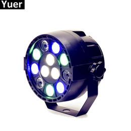 2019 luz de escenario de alta potencia láser Par LED 12X3W RGBW LED etapa luz luz de la igualdad con DMX512 para la máquina proyector de DJ del disco Decoración del partido Etapa de iluminación