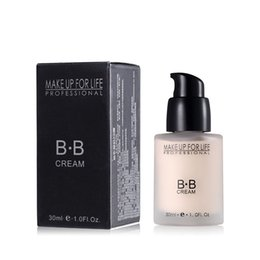 Wholesale Bb Professionals - Professional BB Cream Natural Perfect Cover Makeup Concealer Moisturizing Cosmetics Foundation Make Up 2 Colours 30G