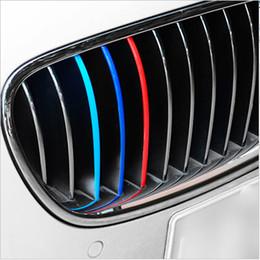 autoadesivi dell'automobile del gattino Sconti GRIGLIA 3COLORE PER BMW GRIGLIA ANTERIORE GRIGLIA FODERA FODERA ADESIVO DECALCOMAN