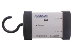 Wholesale Truck Diagnostic Software Interface - AUGOCOM H8 Truck Diagnostic Tool Heavy Duty Truck Diagnostic Tool similar NEXIQ-USB LINK + Software Diesel Truck Interface