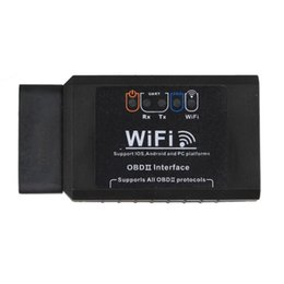 Wholesale Elm327 Ipad - ELM327 WIFI OBD2 EOBD Scan Tool Support Android and iPhone iPad Software V2.1