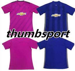 Wholesale Pink Feet - POGBA Soccer Jersey 2018 2019 best Thailand Quality home away 3rd pink jerseys UnITED Ibrahimovic MEMPHIS ROONEY LUKAKU maillot de foot