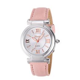 Wholesale Roman Leather Bracelet - 2017 Fashion erkek saat Quartz Watch Women Girl Roman Numerals Leather Band Wrist Bracelet Watches Hot sale Dropship Relogio