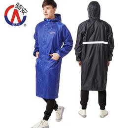 Motorrad Regenmantel Männer 2018 Mode Damen Regenmantel Breathable Mann lange Regenmäntel tragbare wasserabweisende Regenmantel Frauen von Fabrikanten