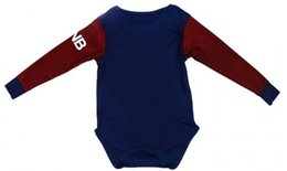 Wholesale Infant Baby Wear - Can Custom name number Best Quality 2017-2018 Di Maria Mbappe Ibrahimovic children's wear infant baby Neymar JR Long Sleeve clothes