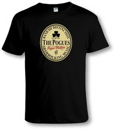 Música divertida camiseta online-FUNNY IRLANDÉS STOUT / POGUES TRIBUTE T ​​SHIRT Irish Punk Music Parodia Mash-Up Tee Nuevas camisetas Funny Tops Tee Nuevas Tops unisex