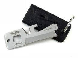 Wholesale Family Specials - Special price TIMBERLINE 5 in1 mini Card knife Multi-purpose outdoor Survival Tools Emergency Survival Pocket Tools Card 5pc