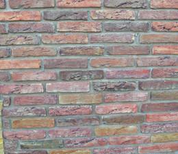 Carreaux de parement en plastique en Ligne-2 pièces / Lot 20 Briques Antique Brique Maker Moule Jardin Maison Chemin Route Béton Plastique Carreaux de Mur Ciment Moules Diy Décor Outil