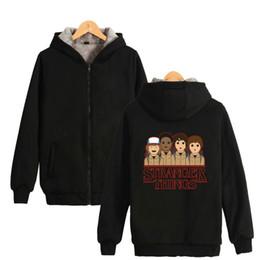 K-pop veste d'hiver Stranger Things College drôle veste épaisse femmes / hommes Basic Cotton Jaqueta Feminina manteau chaud Vestes ? partir de fabricateur